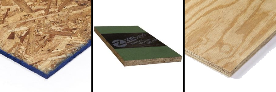 Sheathing Options: OSB, Zip Panels, Plywood