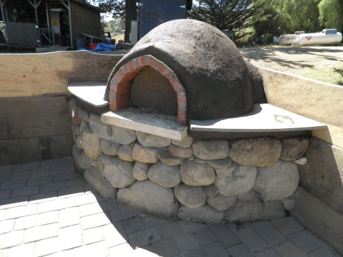 Homemade Cob Oven by Cob
