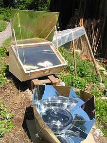 Solar Oven and Hot Pot Panel Cooker