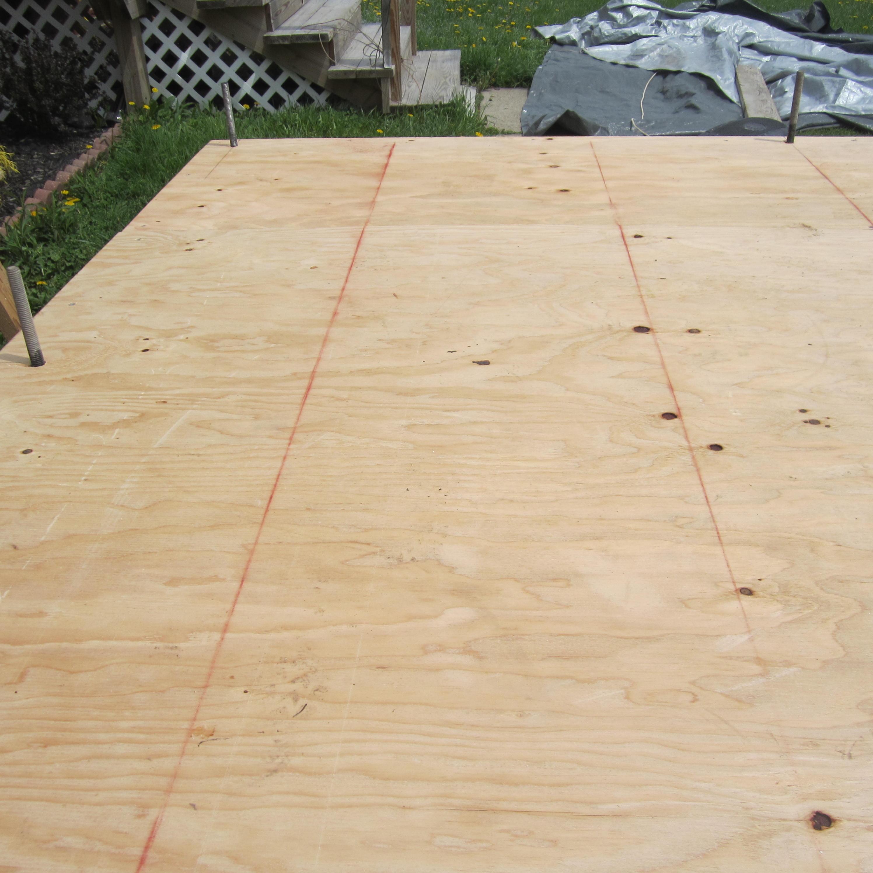 1 Inch Plywood ~ Tiny house subfloor design bottom up evolutions