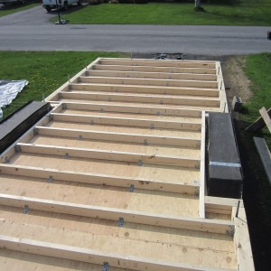 Floor Joist and Hold-downs