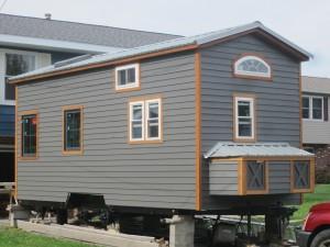 Exterior Complete! Looking sharp!