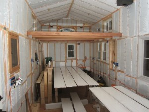 Cedar Boards for Loft