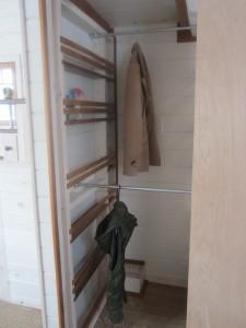 Main Closet with Shelves